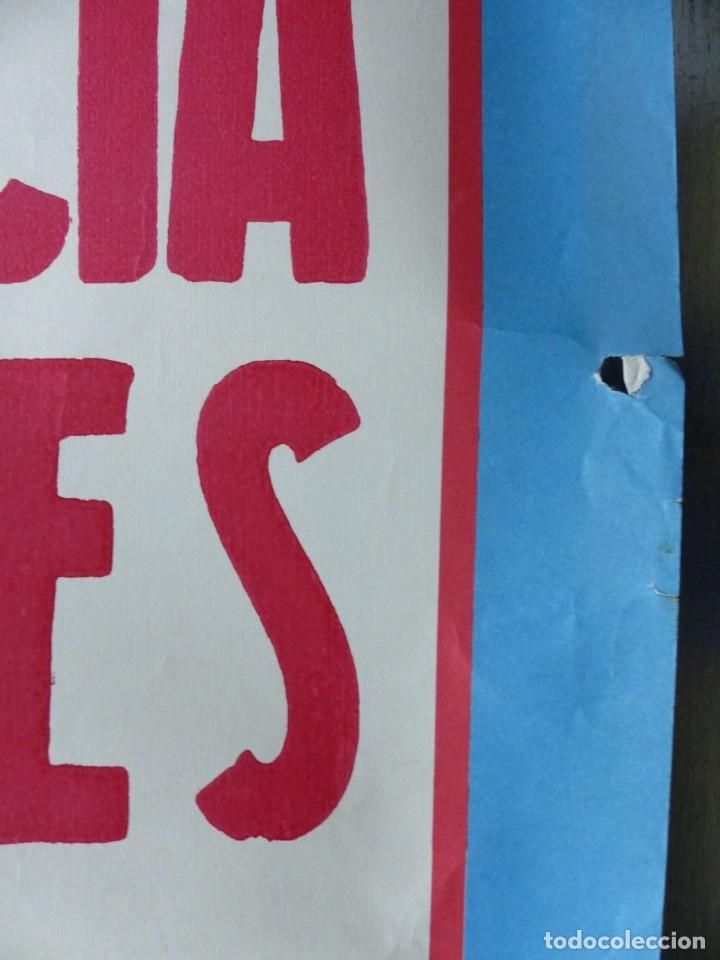 Carteles Toros: VILLENA, ALICANTE - CARTEL DE TOROS - AÑO 1969, SAAVEDRA - Foto 4 - 172640634
