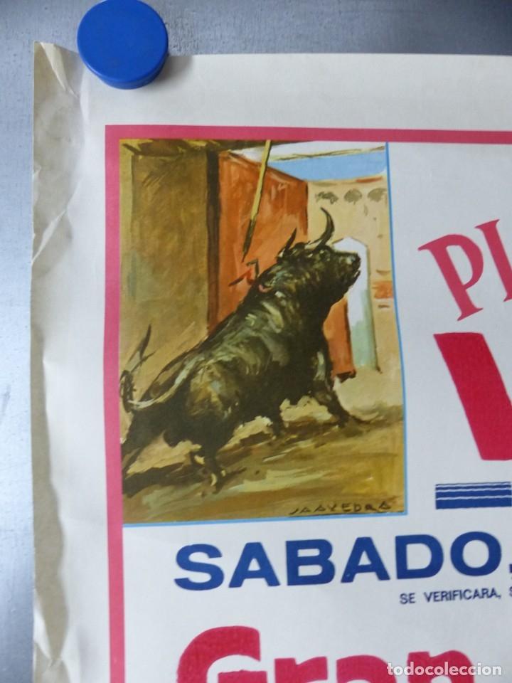Carteles Toros: VILLENA, ALICANTE - CARTEL DE TOROS - AÑO 1969, SAAVEDRA - Foto 5 - 172640634