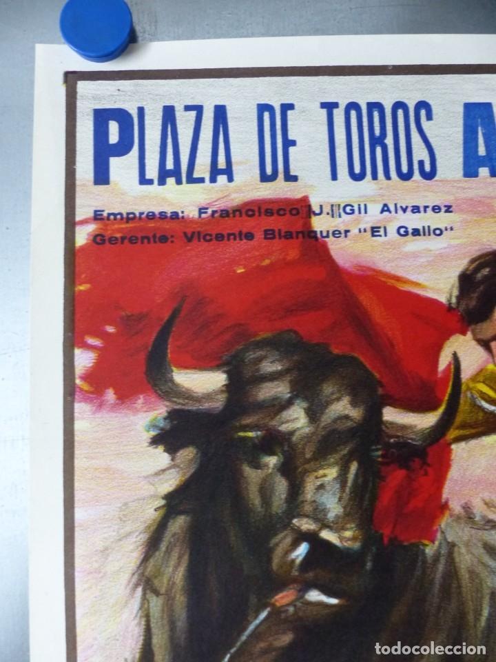 Carteles Toros: CARTEL TOROS ALBACETE - FERIA SEPTIEMBRE 1985 - CROS ESTREMS, LITOGRAFIA, EL SORO, YIYO, ESPLA - Foto 5 - 173116859