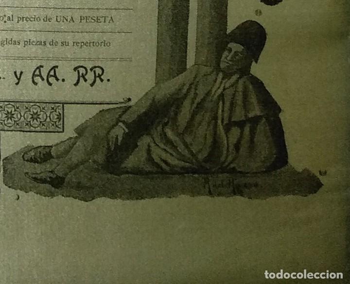 Carteles Toros: Cartel de Beneficencia. Gallito y Juan Belmonte. 1917. Madrid - Foto 7 - 173842692
