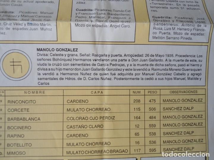 Carteles Toros: CARTEL PUBLICITARIO DE TOROS EN SEVILLA FERIA ABRIL 1992 - Foto 6 - 173846308