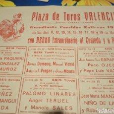 Carteles Toros: CARTEL TAURINO. Lote 174104939