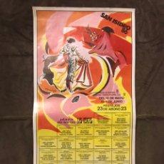 Carteles Toros: TAUROMAQUIA. CARTEL PLAZA DE TOROS DE LAS VENTAS. SAN ISIDRO 1986, FESTEJOS DE MADRID (A.1986). Lote 175043244