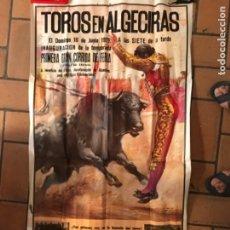 Carteles Toros: CARTEL DE TOROS PLAZA DE ALGECIRAS 1979. Lote 177091123