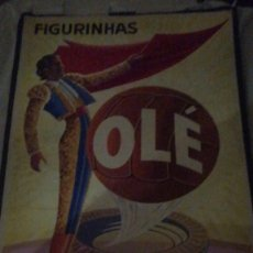 Carteles Toros: CARTEL DE TORERO OLE FIGURINHAS. Lote 177483147