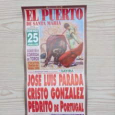 Carteles Toros: CARTEL DE TOROS - LOTE 110. Lote 177591568