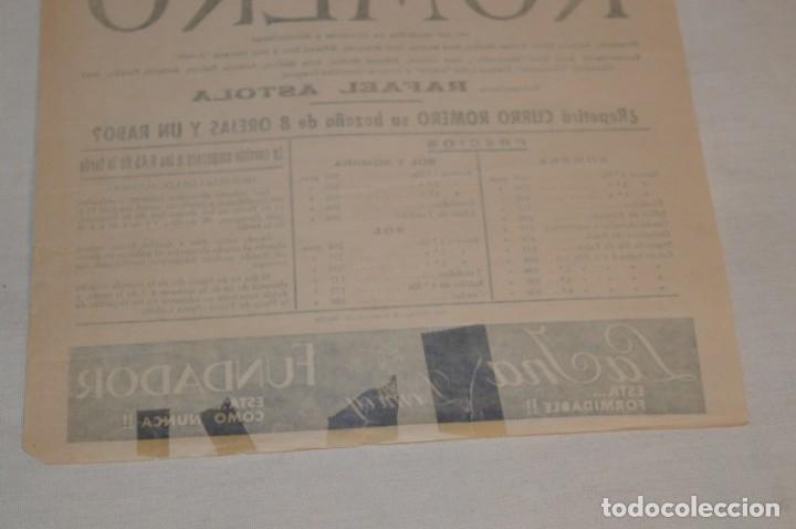 Carteles Toros: Único espada - CURRO ROMERO - Cartel de toros - SEVILLA - Jueves 13 de Junio 1968 - ¡Impresionante! - Foto 7 - 178816026