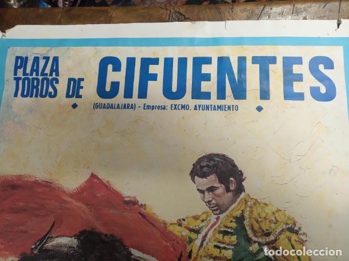 Carteles Toros: Cartel corrida de toros. Cifuentes. 15 y 16 de Septiembre de 1990. El Fundi. Galloso. Pirri, etc.. - Foto 3 - 181139205