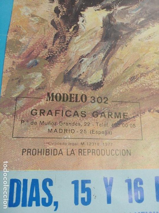 Carteles Toros: Cartel corrida de toros. Cifuentes. 15 y 16 de Septiembre de 1990. El Fundi. Galloso. Pirri, etc.. - Foto 4 - 181139205