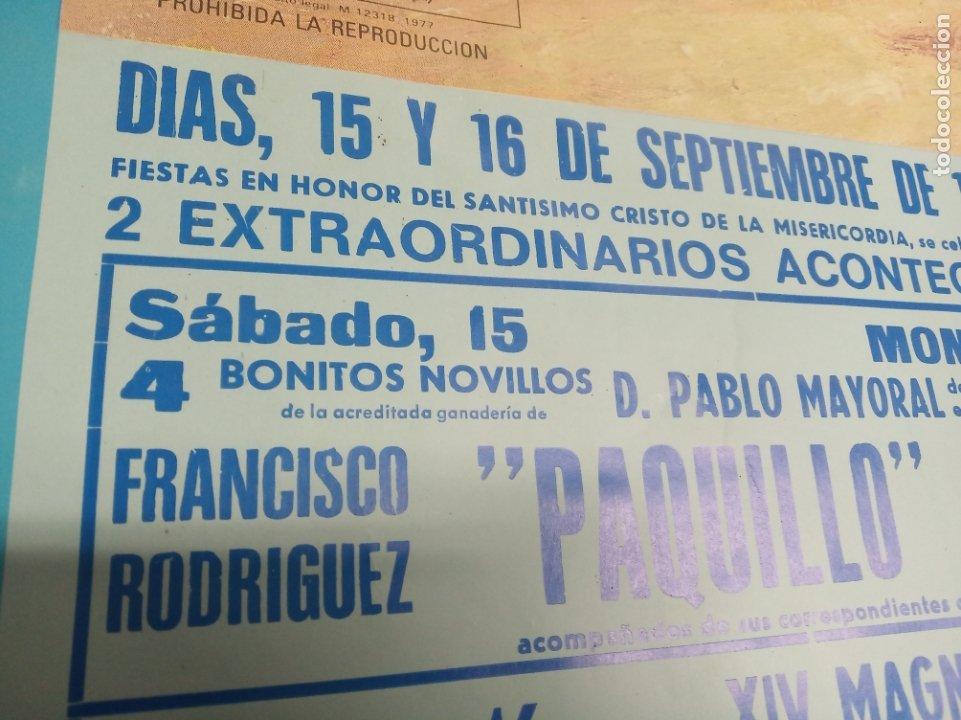 Carteles Toros: Cartel corrida de toros. Cifuentes. 15 y 16 de Septiembre de 1990. El Fundi. Galloso. Pirri, etc.. - Foto 6 - 181139205