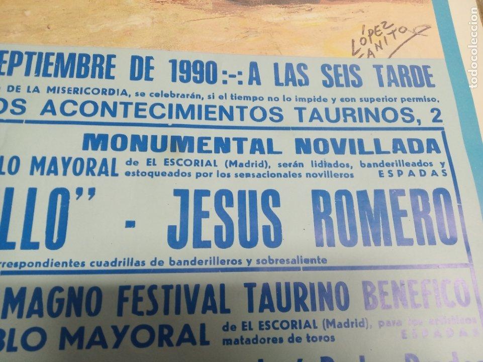 Carteles Toros: Cartel corrida de toros. Cifuentes. 15 y 16 de Septiembre de 1990. El Fundi. Galloso. Pirri, etc.. - Foto 7 - 181139205