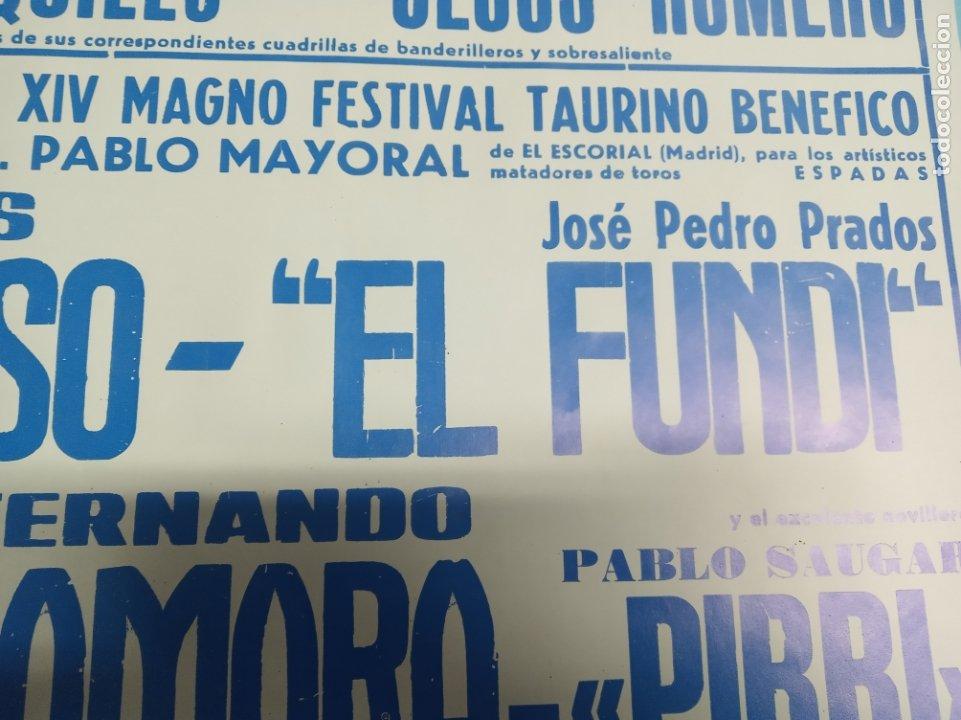 Carteles Toros: Cartel corrida de toros. Cifuentes. 15 y 16 de Septiembre de 1990. El Fundi. Galloso. Pirri, etc.. - Foto 9 - 181139205