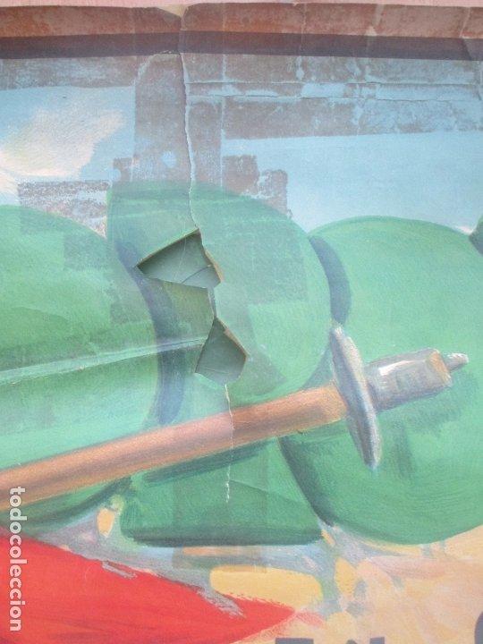 Carteles Toros: CARTEL TOROS, PLAZA ORIHUELA, ALICANTE, 1934, RUANO LLOPIS, LITOGRAFIA, MUY GRANDE, CGT5 - Foto 3 - 181357835