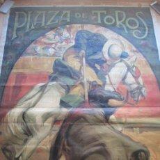 Carteles Toros: CARTEL TOROS, PLAZA ALICANTE, 1923, LA ROSA, MARQUEZ, LITOGRAFIA, MUY GRANDE, CGT11. Lote 182443385