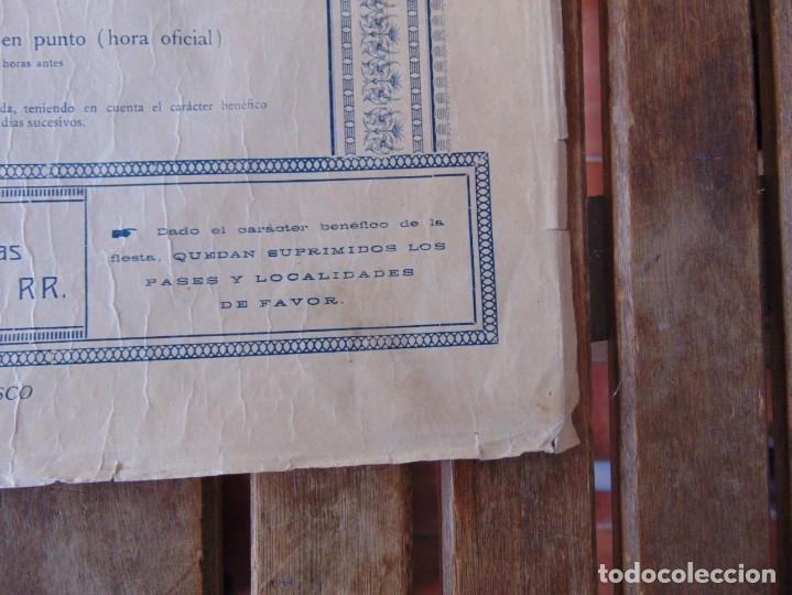 Carteles Toros: CARTEL DE TOROS MADRID ALFONSO XIII CRUZ ROJA TOREROS CAÑERO ROGER VILLALTA AGUERO 7 JUNIO 1927 - Foto 13 - 182836673