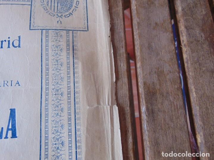 Carteles Toros: CARTEL DE TOROS MADRID ALFONSO XIII CRUZ ROJA TOREROS CAÑERO ROGER VILLALTA AGUERO 7 JUNIO 1927 - Foto 15 - 182836673