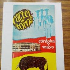 Carteles Toros: CARTEL DE TOROS . CÓRDOBA Y MAYO 1967.. Lote 183072950