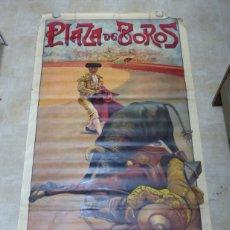 Carteles Toros: ANTIGUO CARTEL GRANDE DE TOROS - ILUSTRADOR: J. SANCHIS BOLOS - LITOGRAFIA - AÑOS 1910. Lote 183170527