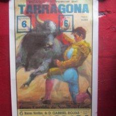 Carteles Toros: CARTEL PLAZA DE TOROS DE TARRAGONA. 9/1981. Lote 183558191