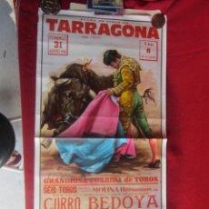 Carteles Toros: CARTEL PLAZA DE TOROS DE TARRAGONA. 8/1980. Lote 183562940