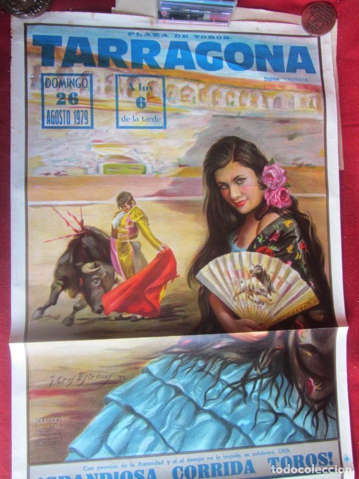CARTEL PLAZA DE TOROS DE TARRAGONA. 7/1979 (Coleccionismo - Carteles Gran Formato - Carteles Toros)