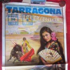 Carteles Toros: CARTEL PLAZA DE TOROS DE TARRAGONA. 7/1979. Lote 183564703