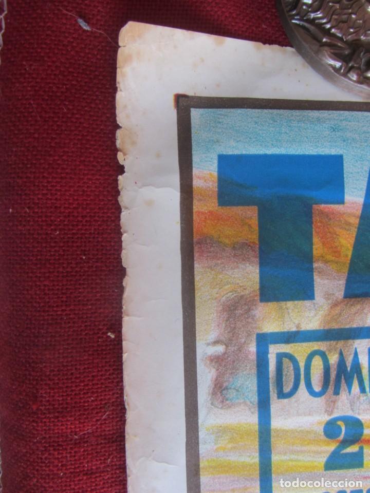 Carteles Toros: CARTEL PLAZA DE TOROS DE TARRAGONA. 7/1979 - Foto 6 - 183564703