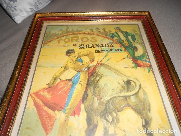 Carteles Toros: Carte TOROS Granada 31 MARZO 1929 Chicuelo Gitanillo de Triana ARMILLITA CHICO TOROS CARMEN FEDERICO - Foto 3 - 183761868