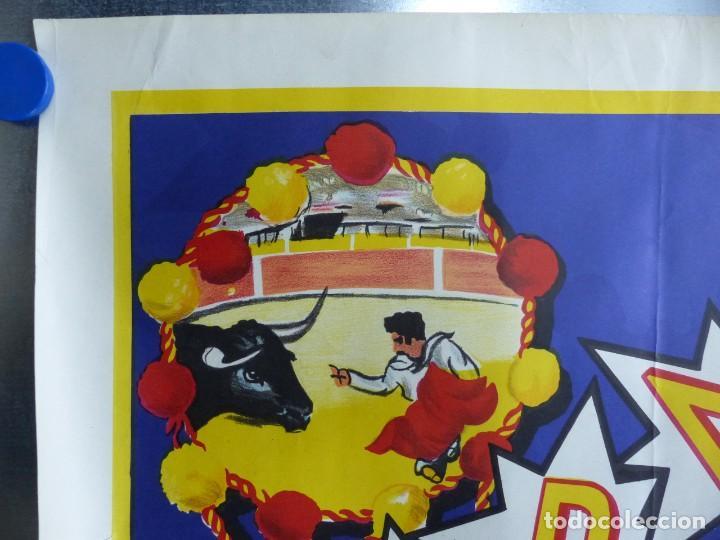 Carteles Toros: ANDALUCIA TAURINA - CARTEL LITOGRAFICO - AÑO 1968., C. HORNA - Foto 3 - 183819236