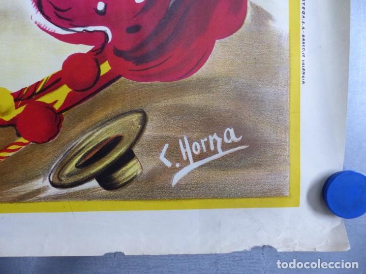 Carteles Toros: ANDALUCIA TAURINA - CARTEL LITOGRAFICO - AÑO 1968., C. HORNA - Foto 6 - 183819236
