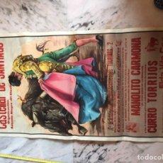 Carteles Toros: PLAZA DE TOROS DE CASTELLAR DE SANTIAGO 1982. Lote 184102655