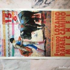 Carteles Toros: PLAZA DE TOROS DE FUENSALIDA 1990. Lote 184102858