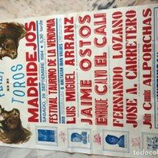 Carteles Toros: PLAZA DE TOROS DE MADRIDEJOS 1984. Lote 184102888