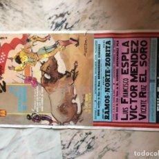 Carteles Toros: PLAZA DE TOROS DE MADRID 1987 2 DE MAYO. Lote 184103120