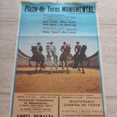 Carteles Toros: CARTEL DE TOROS DE BARCELONA. 10 Y 13 DE JUNIO DE 1971. DIEGO PUERTA, PALOMO LINARES, ELOY CAVAZOS. Lote 186605973