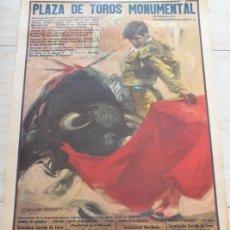 Carteles Toros: CARTEL DE TOROS DE BARCELONA. 20, 24, 25 Y 27 DE SEPTIEMBRE DE 1970. EL CORDOBÉS, DIEGO PUERTA.. Lote 186609516