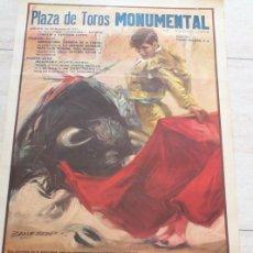Carteles Toros: CARTEL DE TOROS DE BARCELONA. 26, 27 Y 29 DE JUNIO DE 1971. DIEGO PUERTA EL CORDOBÉS, RUIZ MIGUEL,. Lote 186611978