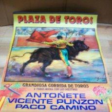 Carteles Toros: ALMANAQUE DE ALMERIA-AÑO 1988-TOROS. Lote 193190253