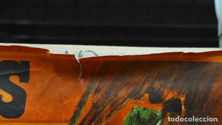 Carteles Toros: CARTEL DE TOROS CON PUBLICIDAD DE FUNDADOR PEDRO DOMECQ Y FINO LA INA - Foto 2 - 194157681
