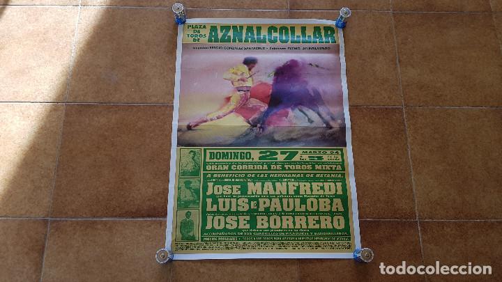 CARTEL PLAZA DE TOROS DE AZNALCOLLAR (1994) (Coleccionismo - Carteles Gran Formato - Carteles Toros)