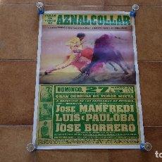 Carteles Toros: CARTEL PLAZA DE TOROS DE AZNALCOLLAR (1994). Lote 194164252
