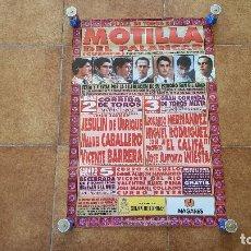 Carteles Toros: CARTEL PLAZA DE TOROS DE MOTILLA DEL PALANCAR (1998) CUENCA. Lote 194164926
