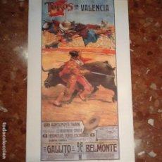 Carteles Toros: CARTEL TOROS DE VALENCIA. Lote 194221600