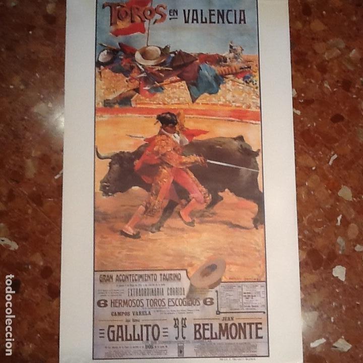Carteles Toros: Cartel toros de Valencia Ano 1915 - Foto 2 - 194221600