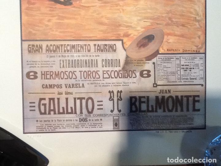 Carteles Toros: Cartel toros de Valencia Ano 1915 - Foto 4 - 194221600