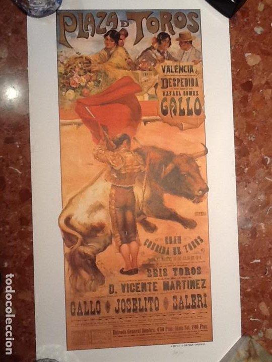 CARTEL TOROS DE VALENCIA ANYO 1918 (Coleccionismo - Carteles Gran Formato - Carteles Toros)