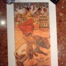 Carteles Toros: CARTEL TOROS DE VALENCIA. Lote 194303528