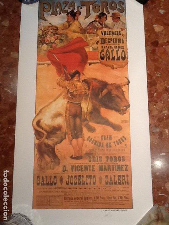 Carteles Toros: Cartel toros de Valencia anyo 1918 - Foto 4 - 194303528