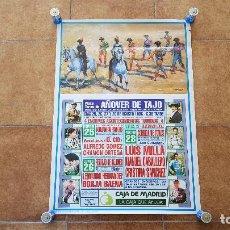 Carteles Toros: CARTEL PLAZA DE TOROS AÑOVER DE TAJO (1996). Lote 194318682
