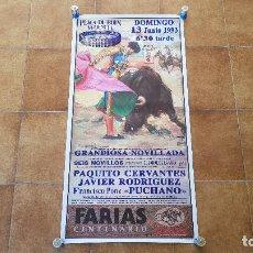 Carteles Toros: CARTEL PLAZA DE TOROS DE VALENCIA (1993) BOUS. Lote 194321623